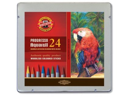 m umelecke pastelky progresso aquarell 8784 24 ks 57160