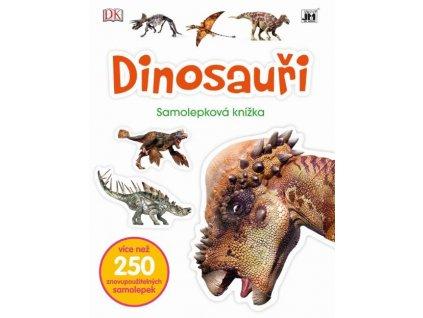 8034 6 dinosauri z1 samolepkova knizka 9788075180346