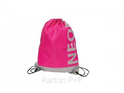 Pytlík na záda Neon růžový