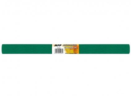 Krepový papír role 50x200cm zelený tmavý