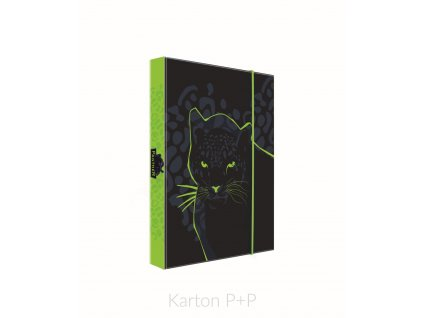 Desky A4 box na sešity kolekce 2019 Panter
