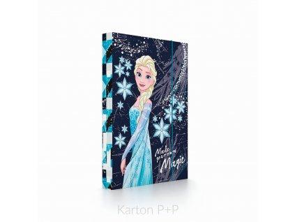 Desky A4 box na sešity kolekce 2019 Frozen