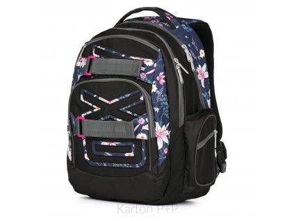 Studentský batoh kolekce 2019 OXY Style Flowers