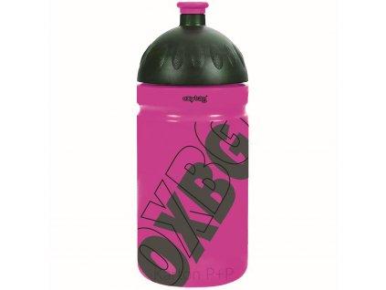 Láhev na pití 500 ml fresh BLACK LINE pink