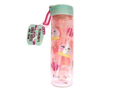 lahev plastova ruzova