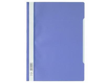 Rychlovazač plast fialový A4