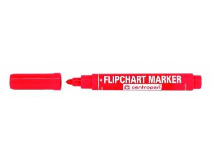 znackovac na flipchart cerveny 8550 1 original