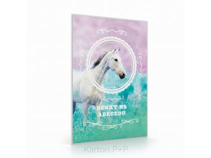 Desky na písmena kůň romantic