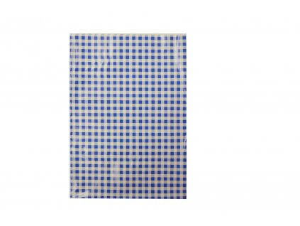 Ubrus do výtvarné výchovy 65x50cm, modro-bílé kostky