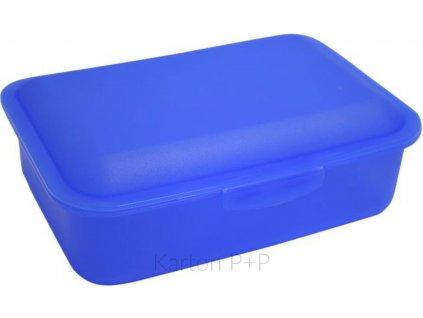 Box na svačinu modrá