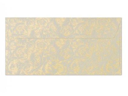 ozdobne obalky dl ruze ivory 14109