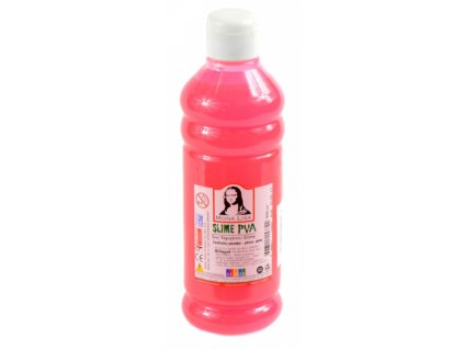 slime glue mona lisa fluorescencni ruzove 500 ml 153322 original