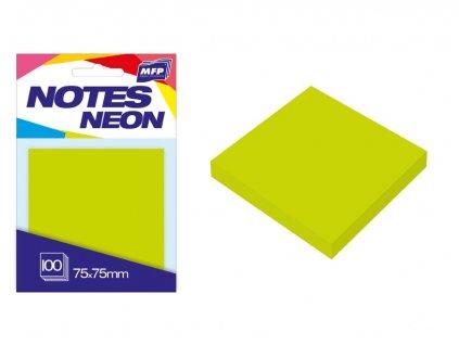 7500891 blocek zeleny neon