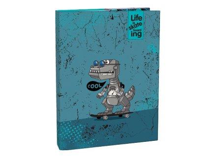 Desky A4 box na sešity Cool Robot kolekce 2019