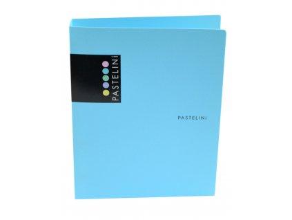 Pořadač A5 PP 4kr. PASTELINI modrá