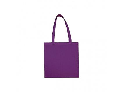 bavlnena nakupni taska na malovani lila