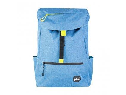 BAAGL Školní batoh Blue