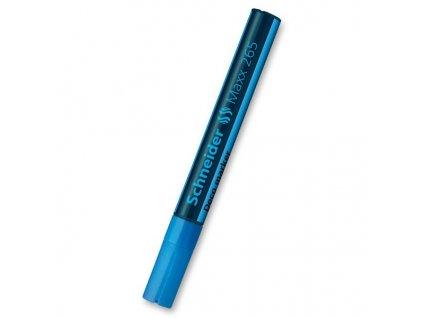Křídový popisovač Schneider Maxx 265, modrý