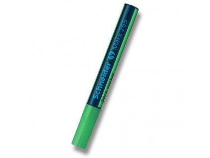 Křídový popisovač Schneider Maxx 265, zelený