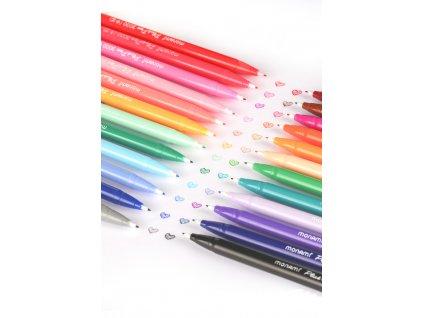 Popisovač Plus Pen FINE LINER Monami 3000-45 světle modrý