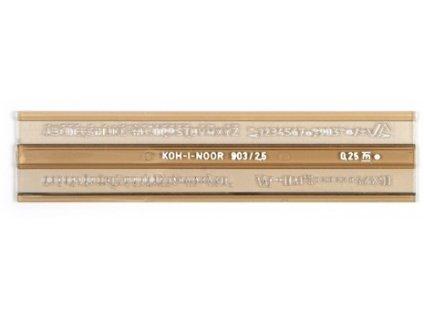 sablona 748031 pismenkova 2 5mm iso max