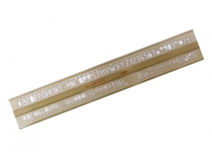 sablona pisma 10 mm 748039