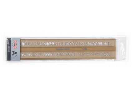 sablona 748008 pismenkova 7mm max