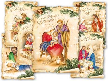 Pohlednice vánoční 139 C výsek