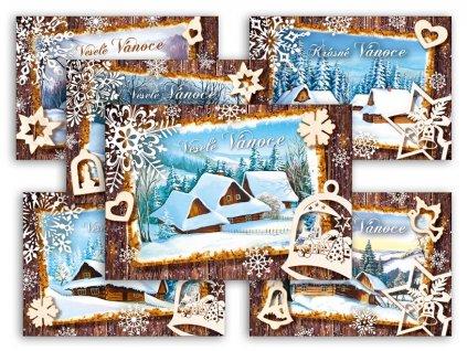 Pohlednice vánoční 148 A
