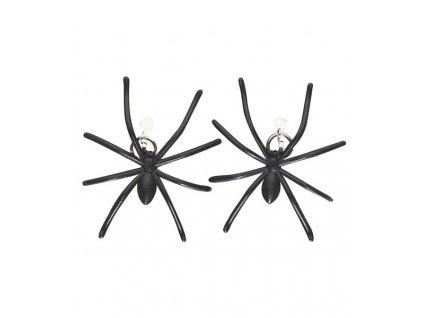 8707E náušnice s pavouky