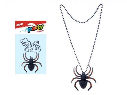 Náhrdelník s pavoukem