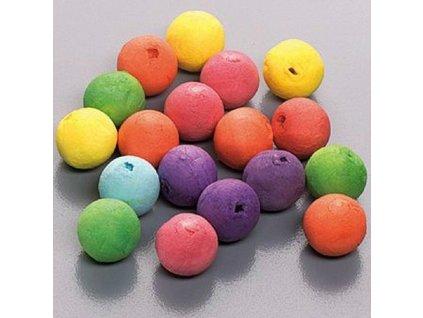 Vatové koule barevné 20mm