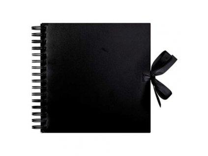 Album kroužkové univerzální 20,5 CM X 20,5 CM SCRAPBOOK BLACKImage