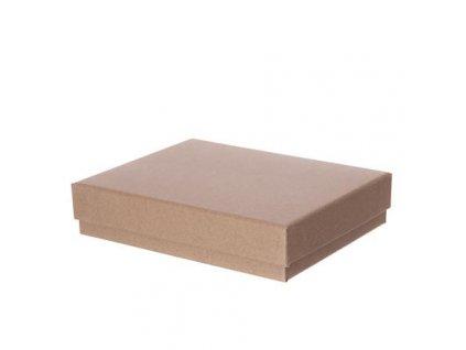 Krabice kartonová kraft 18x14x4 CM