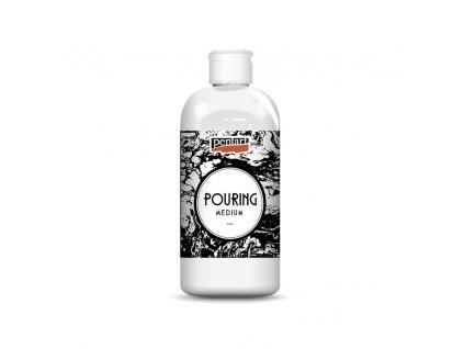 profesionalni kapalne medium pouring medium pentart 500 ml