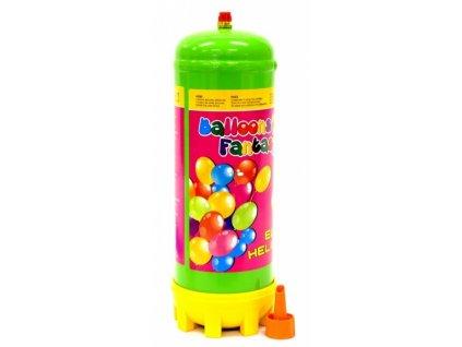 Helium 2,2l jednorázové - 25 balónků