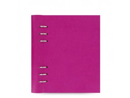 filofax clipbook a5 fuchsia large 1