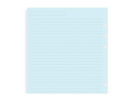 blue notepaper a5 large