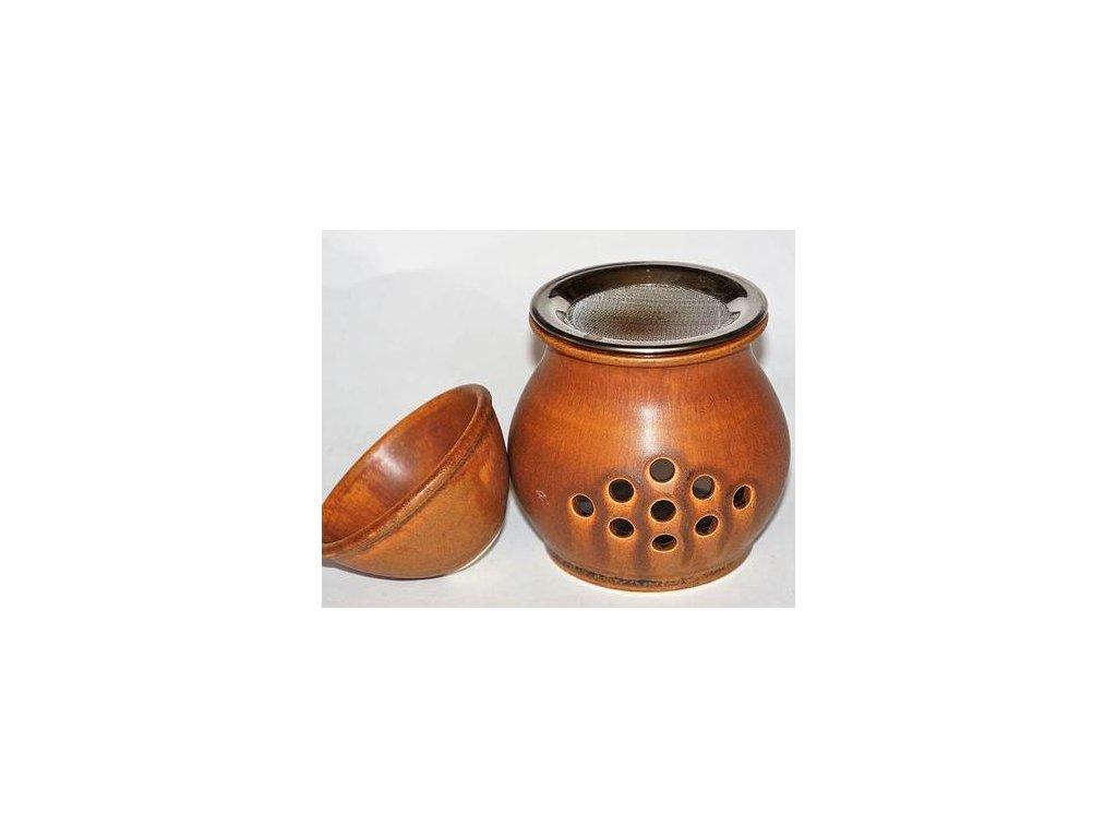 Aromalampa s vykuřovací píckou
