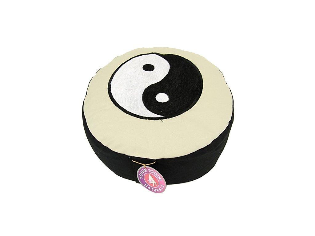 Meditační taburet Yin yang