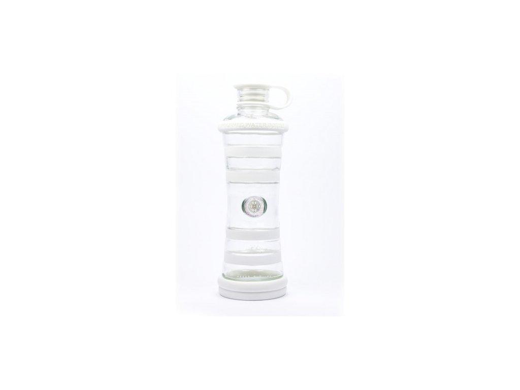 Informovaná láhev bílá