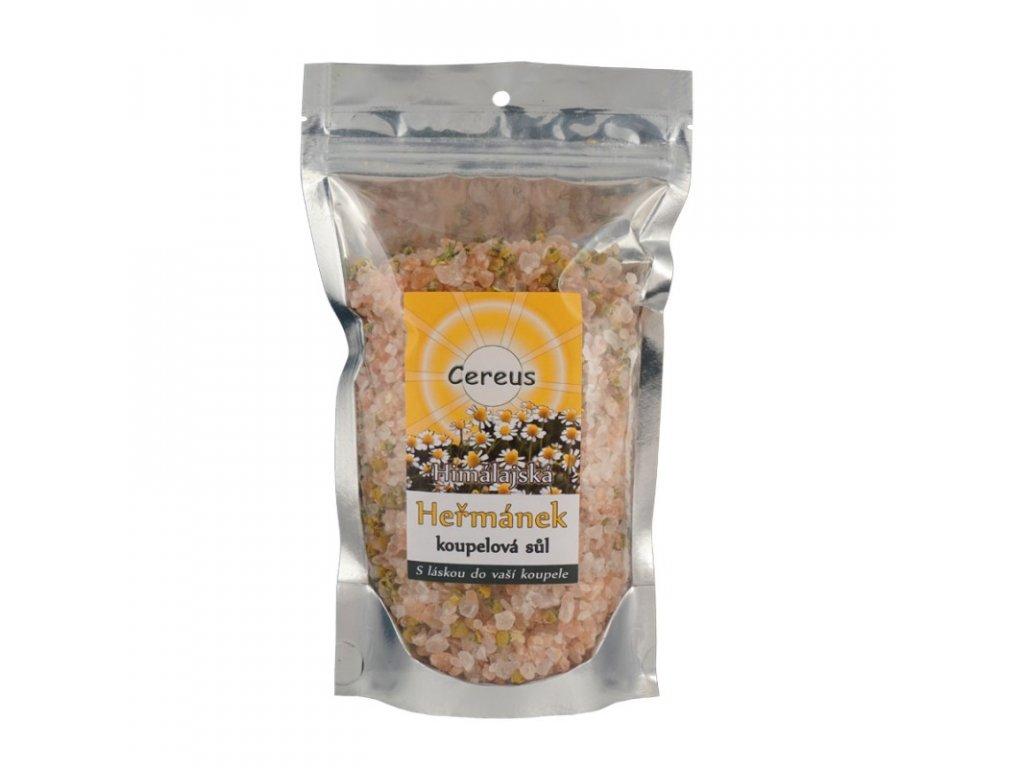 Koupelová sůl Cereus - heřmánek pravý, 0,5 kg
