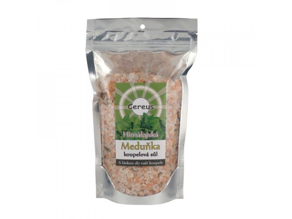 Koupelová sůl Cereus - meduňka, 0,5 kg
