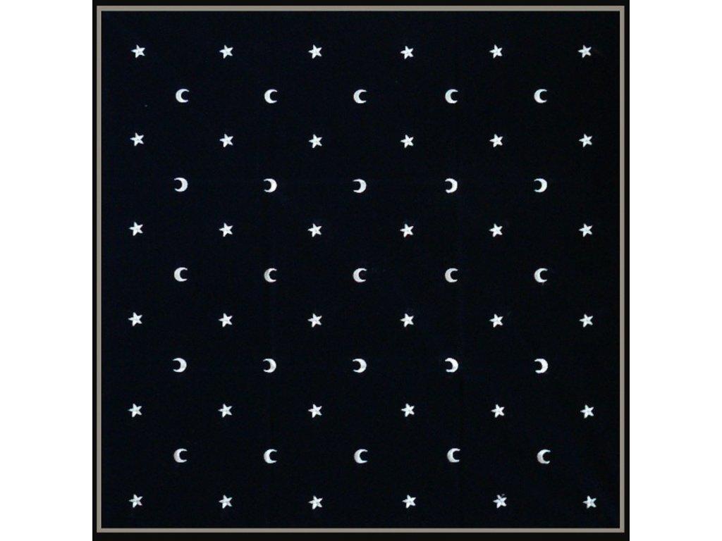 Vykládací ubrus Měsíc a hvězdy