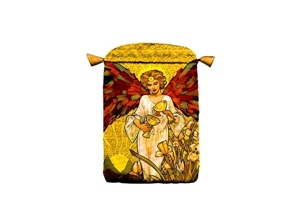 Tarotový sáček Art Nouveau