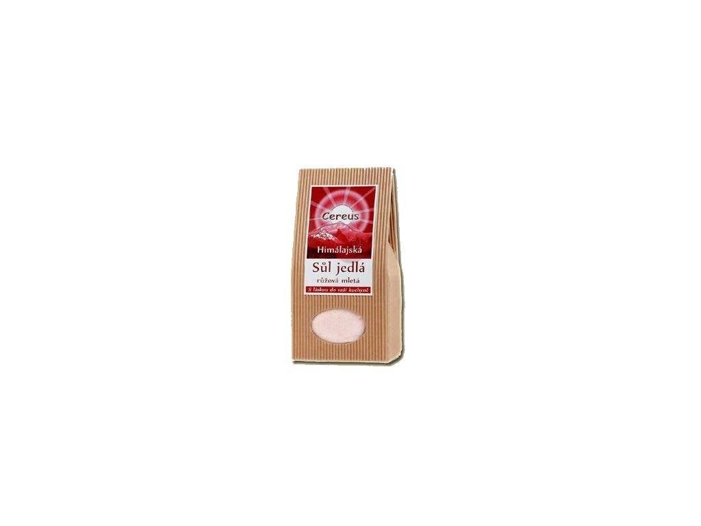 Jídelní sůl Cereus - růžová mletá, 1kg
