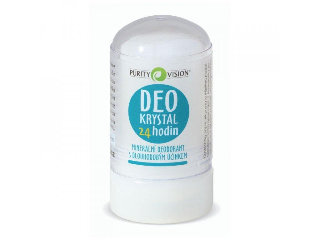 Deo Krystal, přírodní  deodorant  Purity Vision, malý