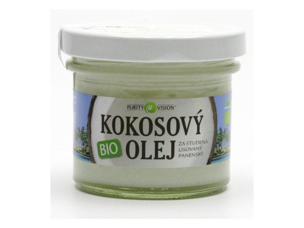 BIO kokosový olej, 100 ml