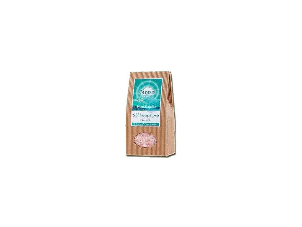 Koupelová sůl Cereus - přírodní hrubá krystalická, 1 kg