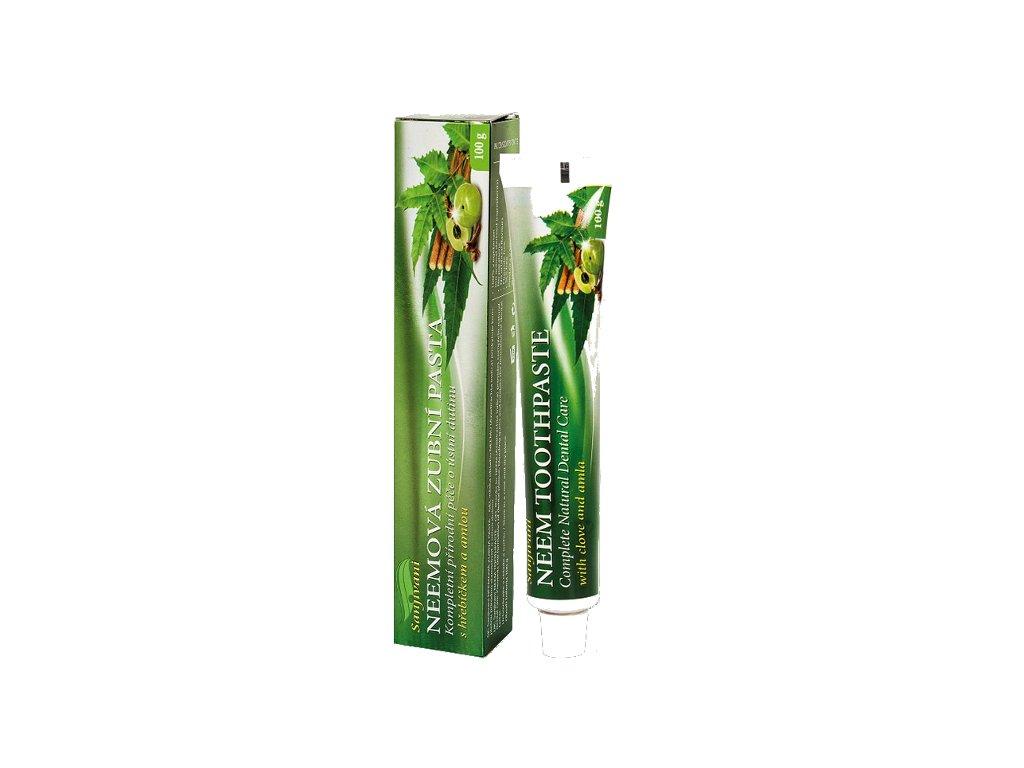 Zubní pasta Sanjivani neem, hřebíček a amla